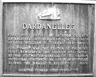 Dardanelles Plaque