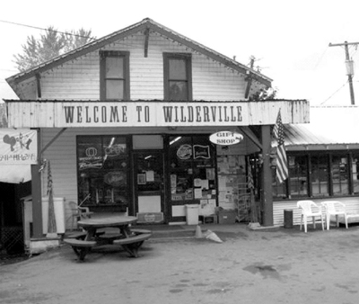 Image of Wilderville Store in modern times